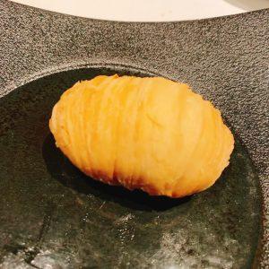 上海蟹ミソ入り大根パイ(食べる前)