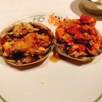 上海蟹の夫婦姿蒸し