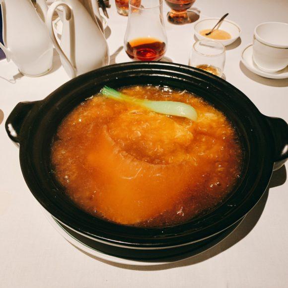 上海蟹のフカヒレ